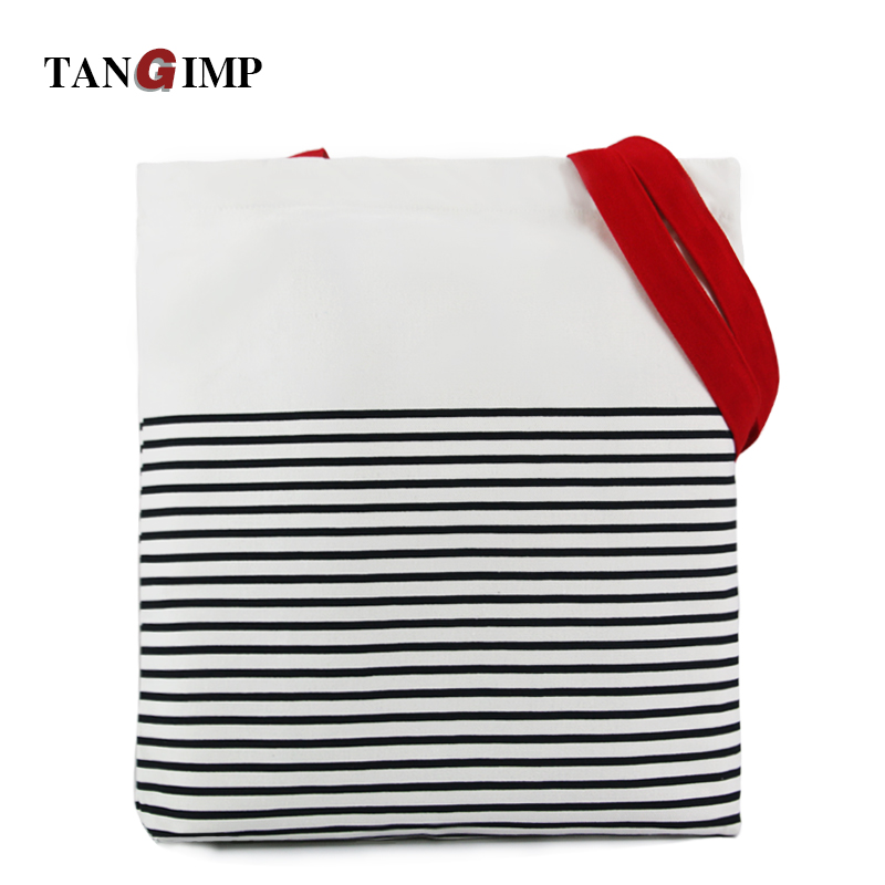 bolsala de compras bolsa de Tipo de Estampa : Stripe