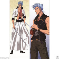 Japan Anime Hugging Body Pillow Case 150*50 Bleach Grimmjow Jaggerjack