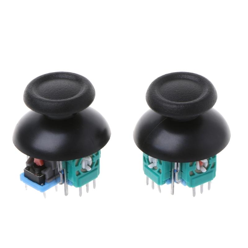 2 Pcs Joystick Axis Analog Sensor Module Thumbstick For PS4 Pro Slim Controller CE0622 Drop shipping