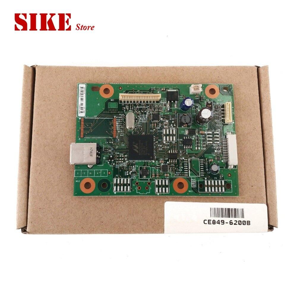 2PCS Lot New Original CE831 60001 Logic Main Board Use For HP M1132 M1136 1132 1136