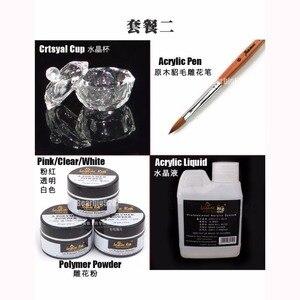 Image 2 - Professional Acrylic Nail Kit Nail Art Set Acrylic Liquid Powder Pen Crtsyal Cup DIY Manicure Tool