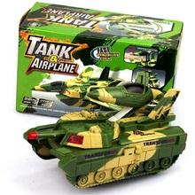 2016 World Of Tanks Model Brinquedo Menino Deformation Of The Plane Toy Music Kids Toy Vehicles Glowing Toy Boy W045