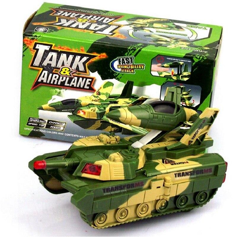 World Of Tanks Modelo Brinquedo Menino Deformación Del Avión de Juguete Música