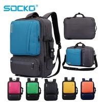 17 inch Laptop Backpack 15 15.4 15.6 Multifunction bag Briefcase shoulder bag handbag school Bag For Macbook Pro man women