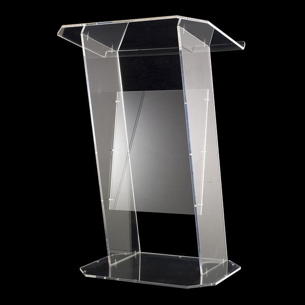 Cheap Transparent Acrylic Podium Pulpit Lectern Clear Plexiglass Podium Free Shipping Modern clear acrylic podium