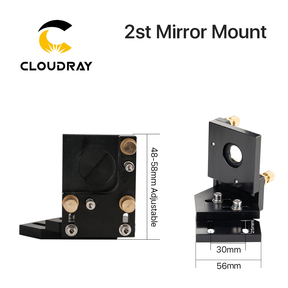 Image 5 - Cloudray CO2 Laser Head Set / Mirror and Focus Lens Integrative Mount Houlder for Laser Engraving Cutting Machine-in Woodworking Machinery Parts from Tools