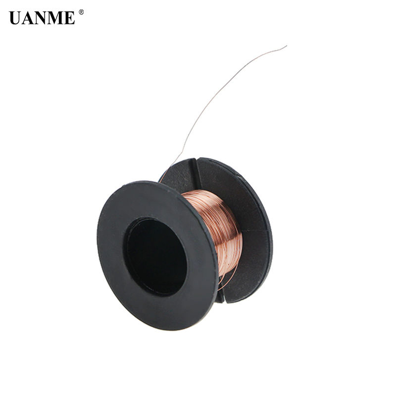 0.1mm PCB Link Wire Copper Soldering Wire Maintenance Jump Line For Mobile Phone Computer PCB Welding Repair Tools Length 15m