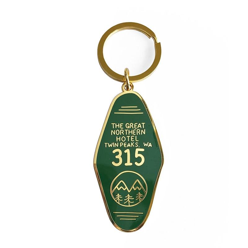 Twin Peaks Keychain - The Great Northern Hotel Room 315