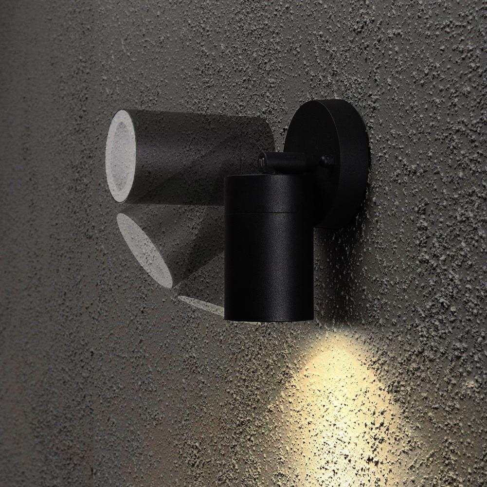 Verstelbare LED Outdoor Tuin Muur Down Verlichting 240 V Waterdichte ...