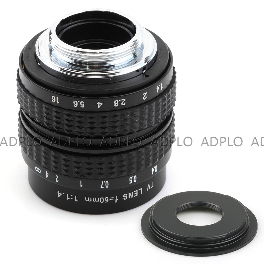 50mm f1.4 C Mount Lens + C-Micro M4 / 3 / NEX / N1 / Pentax Q / Fuji - Kamera och foto - Foto 2