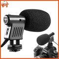 Boya BY-VM01 ПО VM01 Профессиональное Видео и Трансляции Направленная Конденсаторный Микрофон для Canon Sony Gopro Камеры DSLR Видеокамеры