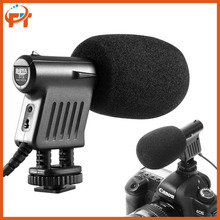 Boya BY-VM01 BY VM01 Professional Video & Broadcast Directional Condenser Microphone for Canon Sony Gopro DSLR Camera Camcorder