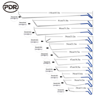 PDR Tools Hook Tool Fix Dent Removal Tool Kit Car Damage Repair Dent Puller Automotive Repair Updated Quality