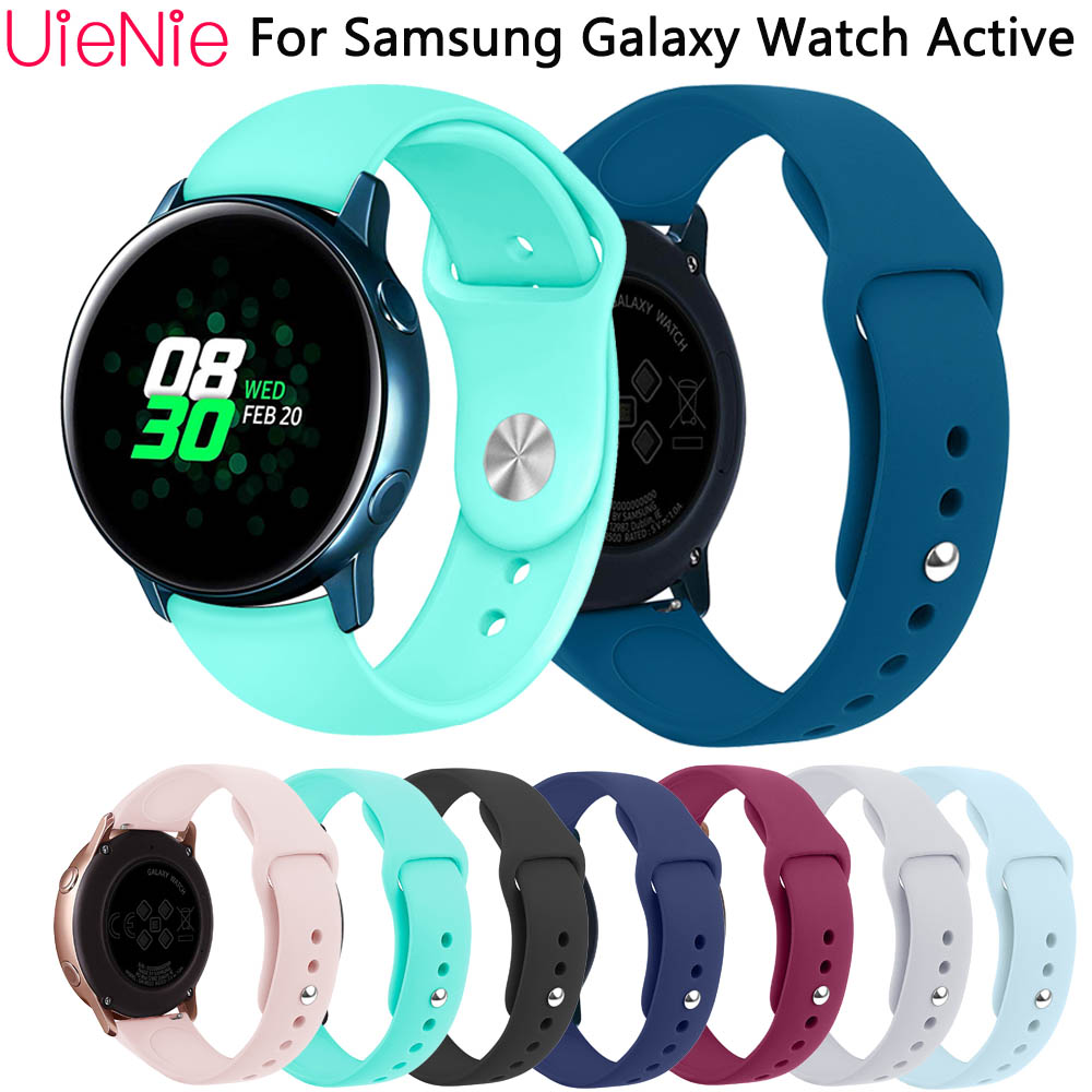 Frontier classic silicone strap For Samsung Galaxy Watch Active bracelet for Samsung Gear S2 wristband accessories watchbandFrontier classic silicone strap For Samsung Galaxy Watch Active bracelet for Samsung Gear S2 wristband accessories watchband