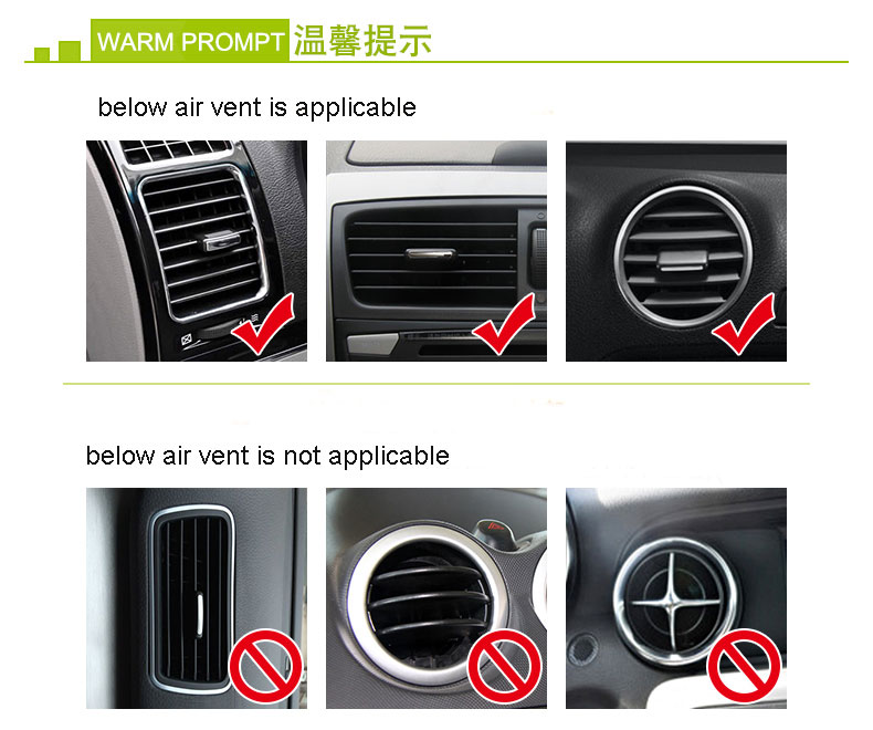 Phone Holder For Mini Cooper Universal Windshield Mount Air Vent Stand Smartphone Iphone 5 6 In Car Bracket From