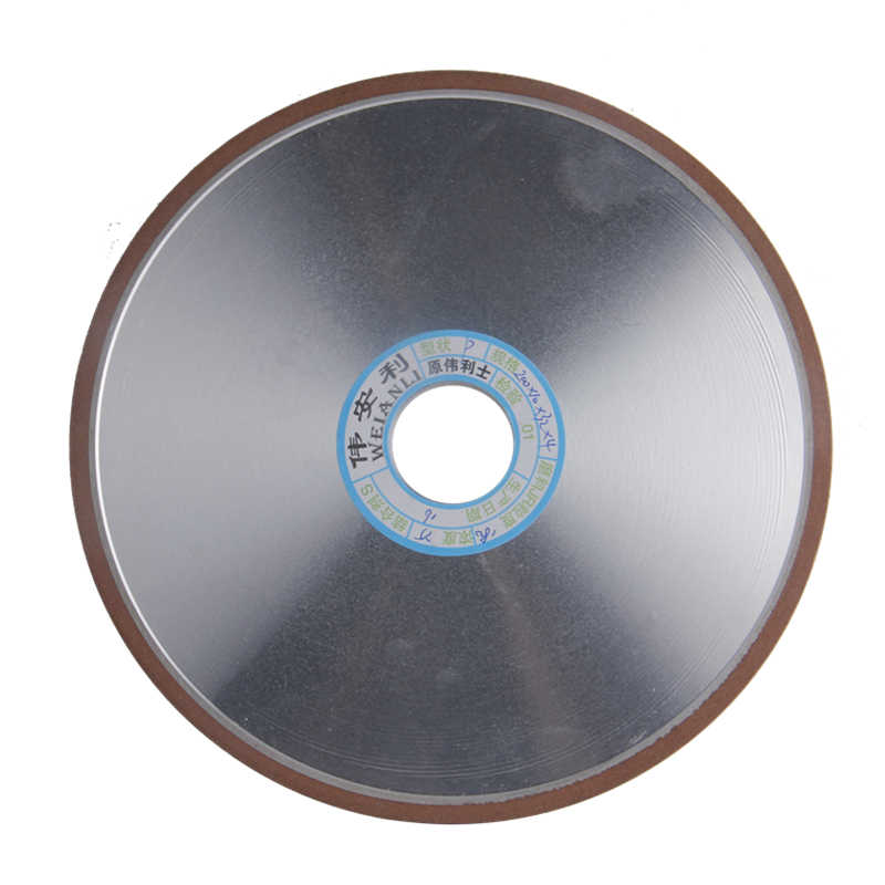 200*10*32*4mm Diamond Grinding Wheel 150/180/240/320 Grits Flat Grinding Wheels Power Tool For Carbide Abrasive Tools 1pc