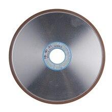 200*10*32*4 мм Алмазный Шлифовальный круг 150/180/240/320 Крупы Плоские шлифовальные Круги Мощный Инструмент Для Карбида Абразивные Инструменты 1 шт.