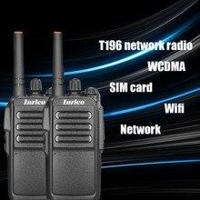 2 PS 5000km จำกัดระยะทาง 5000 mAh แบตเตอรี่แห่งชาติพลเรือน walkie talkie Travel เครือข่ายสาธารณะ walkie talkie