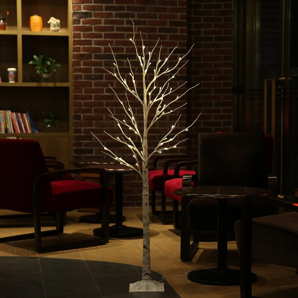 Bonsai Table Lamp Silver Birch Light