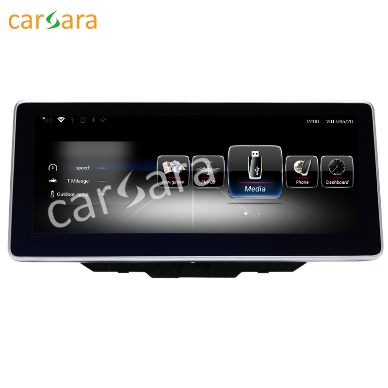 10.25 Android Navigation display for Benz B Class W246 2016-2017 touch screen GPS stereo dash multimedia player