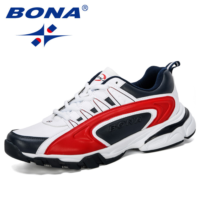 Image 5 - BONA 2019 New Designer Men Running Shoes Sports Outdoor Shoes Man  Sneakers Trainers Zapatos De Hombre Footwear Male ComfortableRunning  Shoes