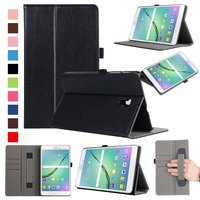 For Samsung Galaxy Tab A 8 0 2017 Case PU Leather Folio Smart Cover With Hand
