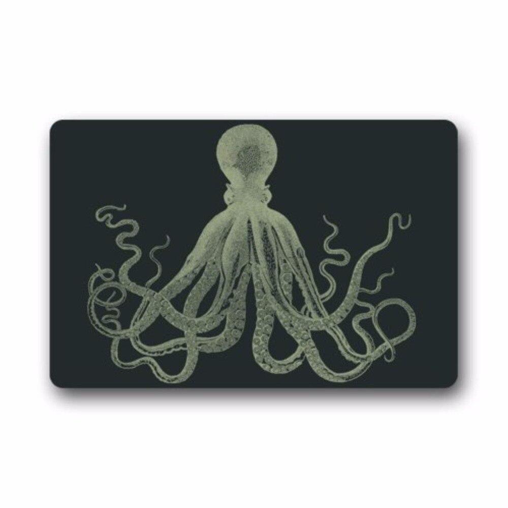 Door Mat Cool Octopus Art Doormat Rug Indoor/Outdoor/Front Door/Bathroom Mats Floor 23.6inch X 15.7inch