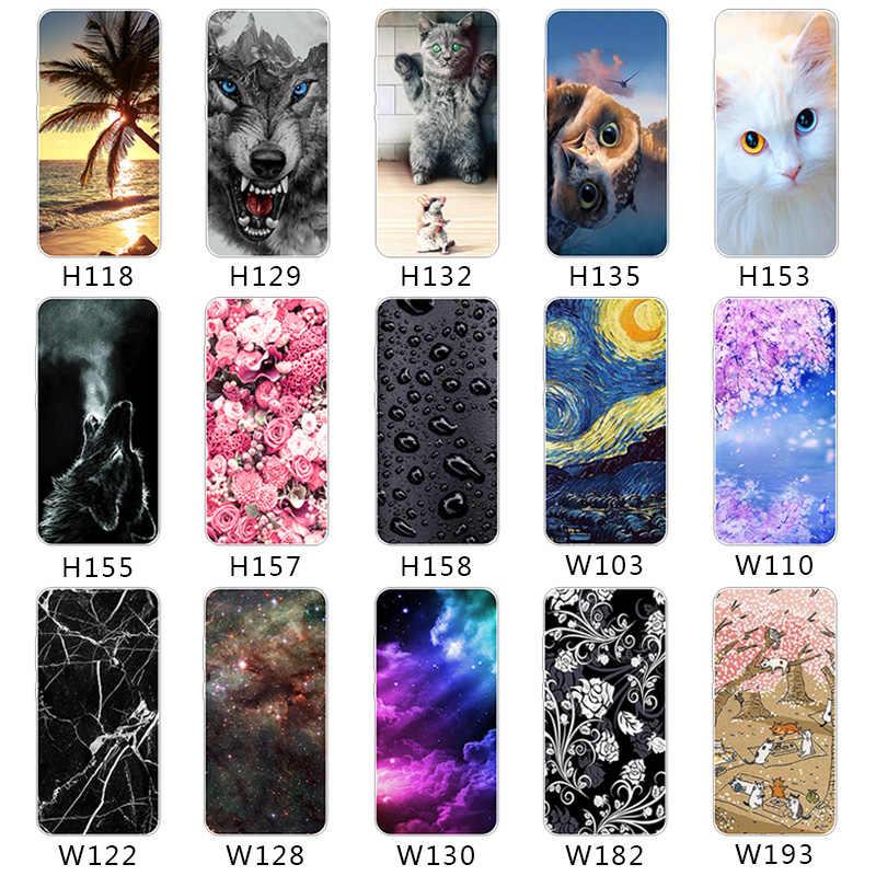 Telefon kılıfı Yumuşak Silikon Tutku OnePlus 5 T 3 2 5 Cep Telefonu Için arka kapak Koruyucu Için ZTE blade V7 Lite Akson 7 a2017 Mini