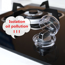 Quality goods Kitchen General gas stove switch protection cover oil shield door font b safety b