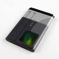 Original BL-5C bateria do telefone para nokia 1000 1010 1108 1110 1112 1116 e50 e60 n70 6680 2020 6267 bl5c 1020 mah