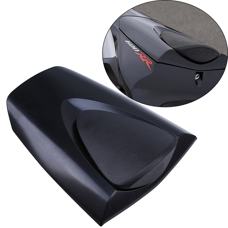 Black Motorcycle Rear Seat Cover Fairing Cowl For Honda CBR600RR CBR 600RR 600 RR 2007 2008 2009 2010 2011 2012