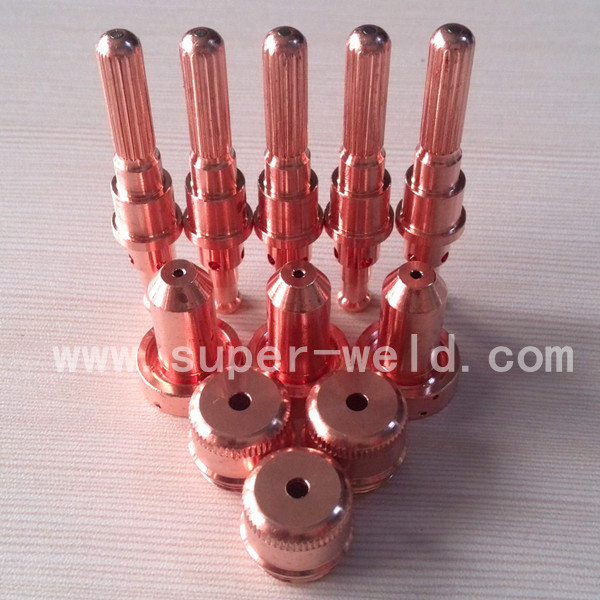 Thermal Dynamics 9 8215 electrode and 9 8212 Nozzle 100A Per lot plasma cutting consumables SL60