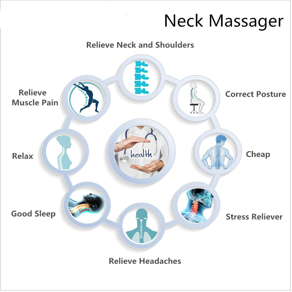 US $15 99  Neck Nerves Pressure Tension Headaches Pain Relief Massager Head  Hammock Traction Device Cervical Posture Alignment Support-in Hammocks