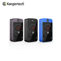 Original Kanger Pollex Box MOD 230W with 3500mAh Built-in Battery 2.4 inches Touch Screen E cigarette MOD
