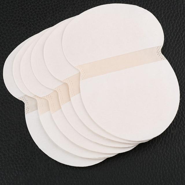 12 pièces Mode Unisexe Pratique D'été Aisselles Jetables Tampons Tampons de Transpiration pour les Aisselles Absorbant Doux Extérieur Anti Transpiration Chaude