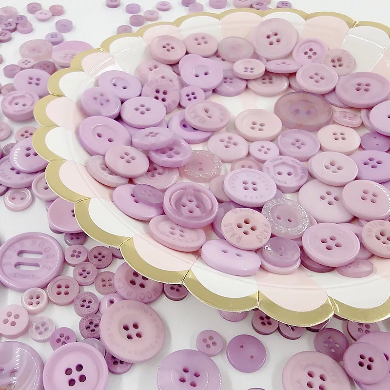 50 Gram Mixed size Resin Buttons Sewing Craft Scrapbooking DIY Making Hand Knitting dolls clothing