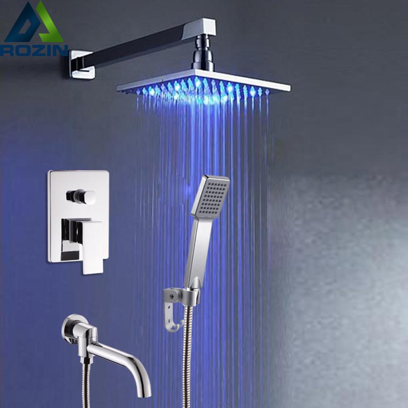 Dusche Wandleuchte-kaufen Billigdusche Wandleuchte Partien Aus ... Moderne Badewanne Led Beleuchtung