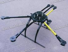 ATG 700-X6-AL 2212/2216 Folding Frame Hexa Multicopter w/ Dual Carbon Motor Mounting Plate