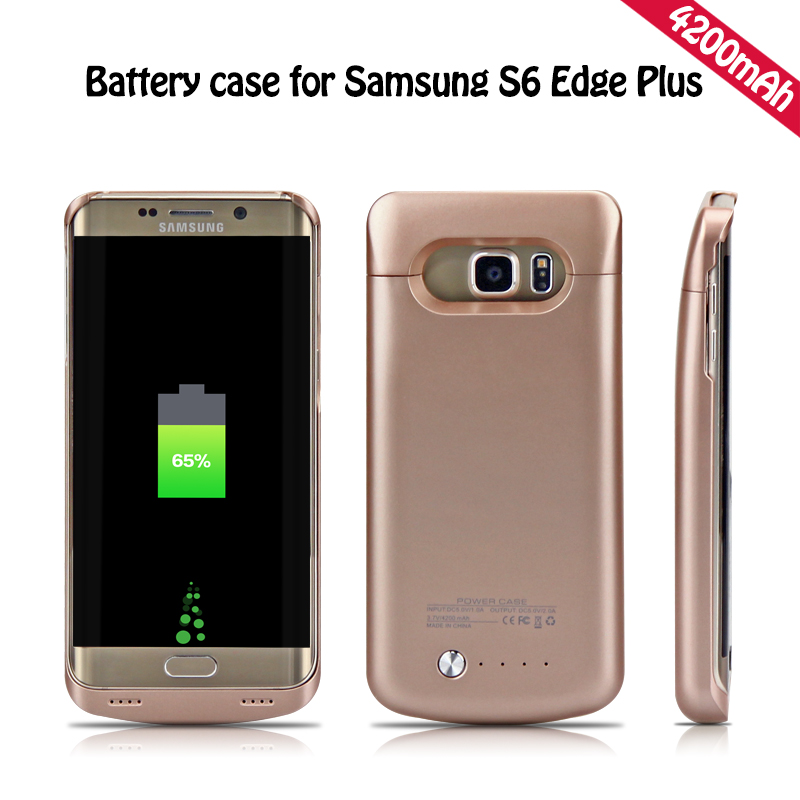 brand new 916b2 ed5ae US $29.97 |YOTEEN Extended 4200mAh Power Case For Samsung Galaxy S6 S6 edge  Battery Case for Samsung S6 edge Plus Powerbank Charge Cover-in Battery ...