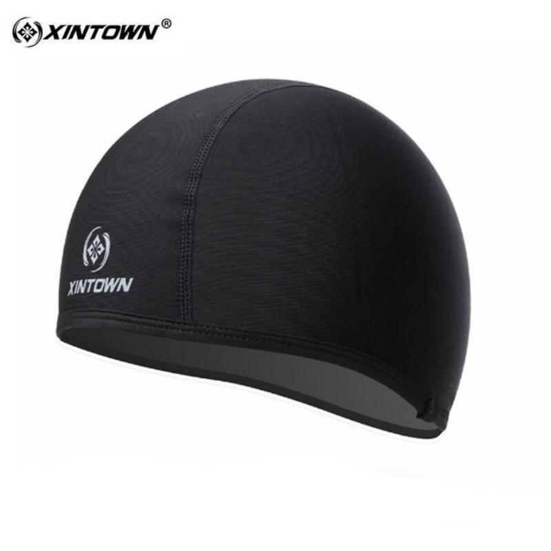 XINTOWN Black Hat Men cycling Windproof Bicycle bike Cap Hat Head Cover headband Bike hats bicycle head wear