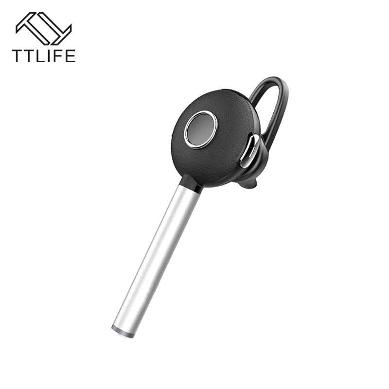 TTLIFE New A825BL Bluetooth Earphone Wireless Headset Metal Mini Earbuds With Microphone For Phones/xiaomi Car Hands Free new dacom carkit mini bluetooth headset wireless earphone mic with usb car charger for iphone airpods android huawei smartphone