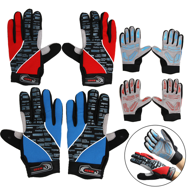 Mtb Cycling Gloves Full Finger Windproof Outdoor Sports Mountain