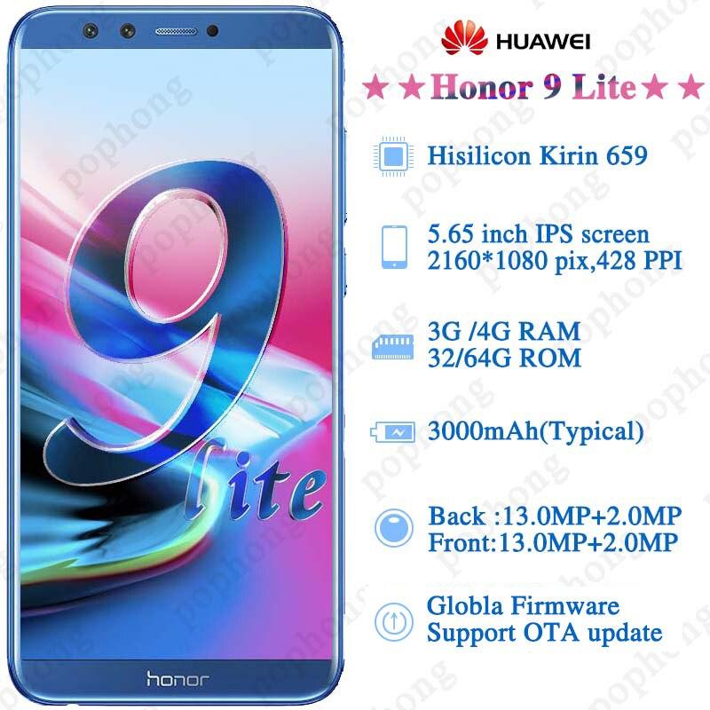Global Firmware Huawei Honor 9 Lite 5 65