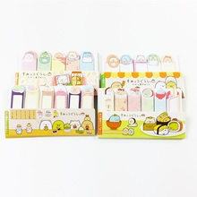1pack/lot Cartoon Animals Mini Memo Pad Cute Kawaii Sticky Notes Notebook Stationery Paper Lebel Stickers Office Supplies