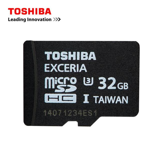 100% Original TOSHIBA Micro SD Card 32GB Max up to Read 95M/s Class U3 SDHC 32G TF MicroSD Memory Card SD/TF Flash Memory