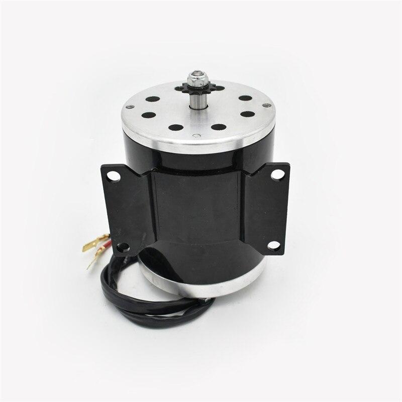Vyrobeno v Číně vysokorychlostní velký elektrický pohon všech terénních elektrických vozidel MY1020 1000W36 / 48V e Scooter Motor