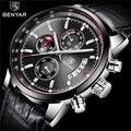 BENYAR мужские часы 2019 NewLuxury брендовые кварцевые кожаные часы мужские модные наручные часы с хронографом спортивные часы Relogio Masculino