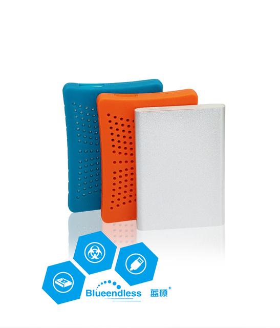 Anti-Choque 2.5 Disco Rígido HDD 320G/500G/750G/1 TB/2 TB HDD Hdd Case com Borracha Anti-choque Caso