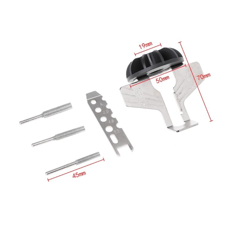 Kettensäge Schärfen Befestigung Greifer Bohrmaschine Handspitzer Adapter W315