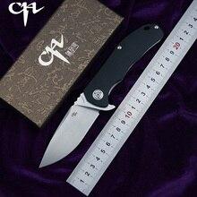 CH New CH3504-G10 Flipper folding knife D2 blade ball bearing G10 + steel handle camping hunting pocket knife EDC tools цена и фото